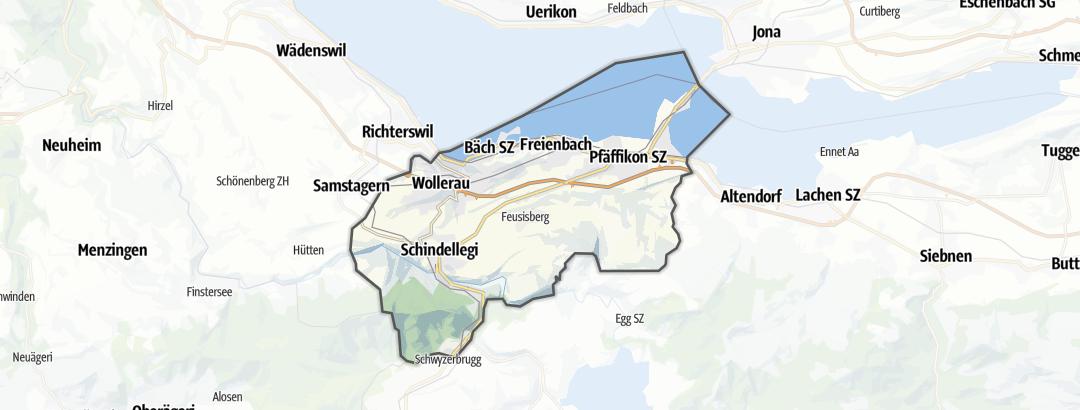 Térkép / Többnapos hegyikerékpár,  Hoefe területén