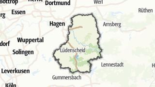 Karte / Märkischer Kreis
