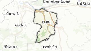 Karte / Liestal