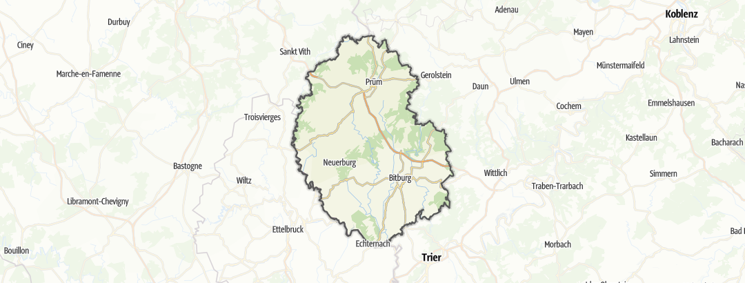 Térkép / Múzeum,  Eifelkreis-Bitburg-Pruem területén