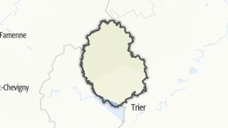 מפה / Eifelkreis-Bitburg-Pruem
