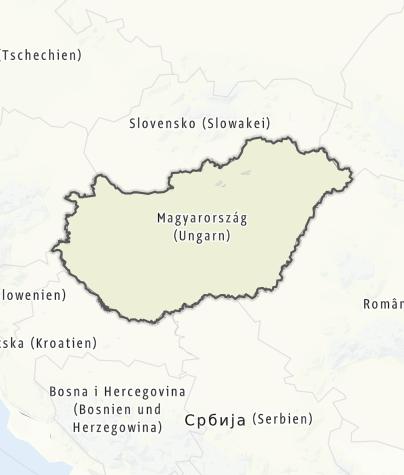 Karte / Ungarn