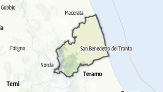Карта / Ascoli Piceno