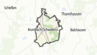 Cartina / Krumbach (Schwaben)