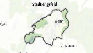 Mapa / Weilar
