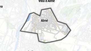 Hartă / Almè