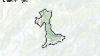 Karte / Castello-Molina di Fiemme