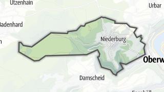 Karte / Niederburg
