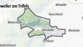 Mapa / Leinsweiler