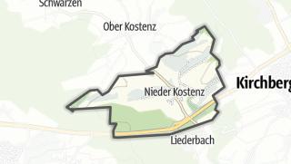 Mapa / Nieder Kostenz