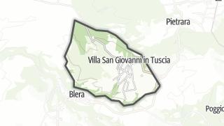Hartă / Villa San Giovanni in Tuscia