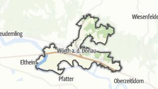 Carte / Wörth an der Donau