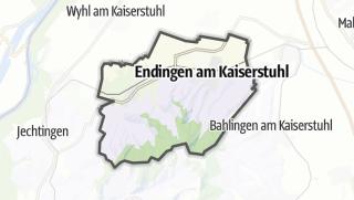 Cartina / Endingen am Kaiserstuhl