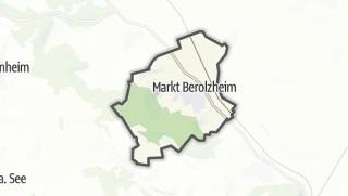 מפה / Markt Berolzheim