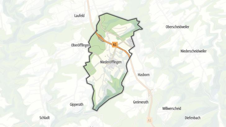 Map / Niederöfflingen