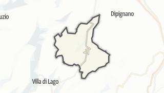 Mapa / Domanico