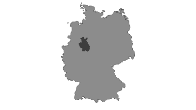 Map / Teutoburg Forest