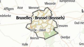 地图 / Brussels-Capital Region