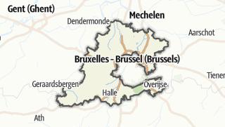 Mapa / Halle-Vilvoorde