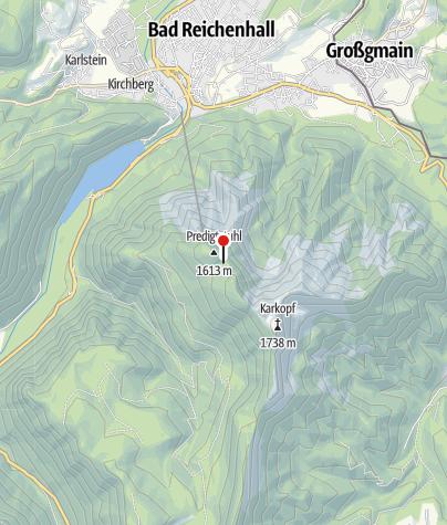 Karte / Schleglmulde 1545 m