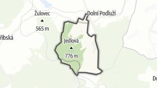Karte / Jiřetín pod Jedlovou