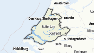 Karte / Zuid-Holland