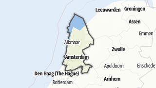 Map / Noord-Holland