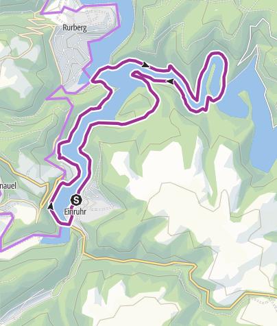 Karte / Oberseerunde (Nationalpark Eifel)
