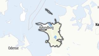 Hartă / Kalundborg