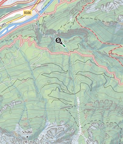 Karte / Adrenalin Klettersteig in der Galitzenklamm