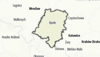 Cartina / Opolskie