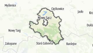 地图 / Nowosadecki