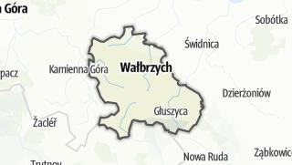 Mapa / Wałbrzyski