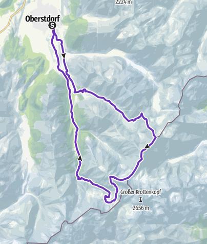 Karte / Allgäuer Alpen de luxe