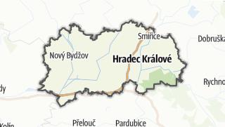 Cartina / Hradec Králové