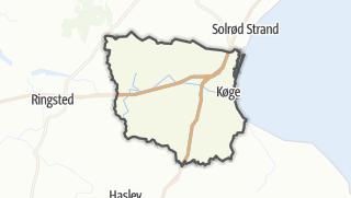 Hartă / Køge
