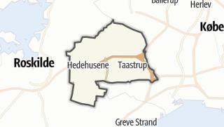 Térkép / Høje-Taastrup
