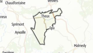 מפה / Theux