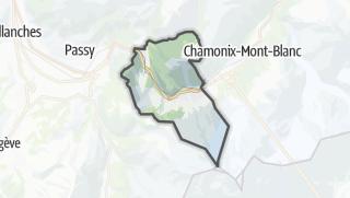 Karte / Les Houches