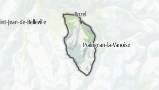 Map / Saint-Bon-Tarentaise