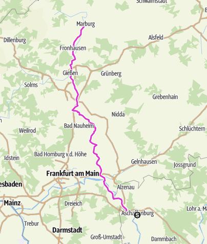 Karte / BB2013-Aschaffenburg-Marburg