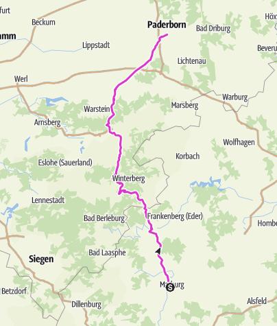 Mapa / BB2013-Marburg-Paderborn