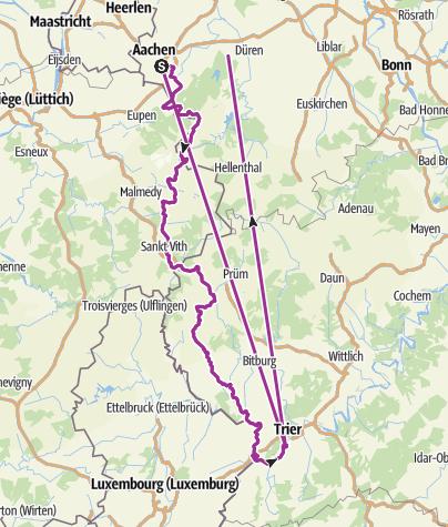 Karte / Aachen-St.Vieth-Trier