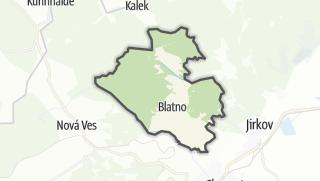 Térkép / Blatno