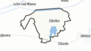 מפה / Zálezlice