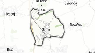 מפה / Zlonín