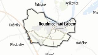 מפה / Roudnice nad Labem