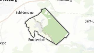 Mapa / Niderviller