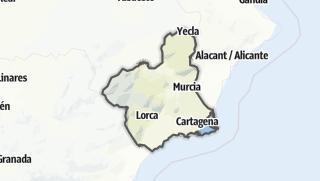 Map / Región de Murcia
