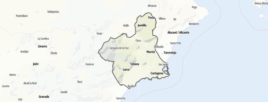 Карта / Región de Murcia